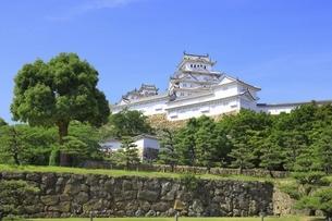 姫路城三の丸広場の写真素材 [FYI04898372]