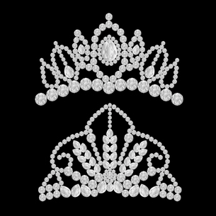 ダイヤモンドのティアラのイラストのイラスト素材 [FYI04898583]