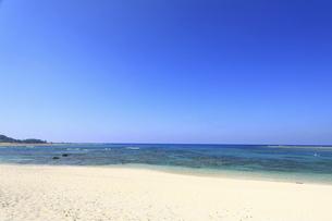 奄美大島土森海岸ブルーエンジェルと呼ばれる海の風景の写真素材 [FYI04899040]