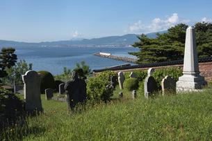 函館 外人墓地の写真素材 [FYI04899089]