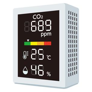 二酸化炭素濃度測定器のイラスト素材 [FYI04899545]