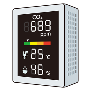二酸化炭素濃度測定器のイラスト素材 [FYI04899546]