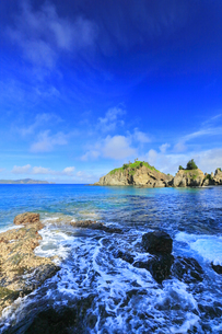 小笠原国立公園 母島の蓬莱根海岸の写真素材 [FYI04899652]