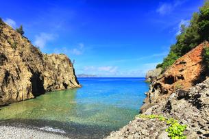 小笠原国立公園 母島の万年青浜の写真素材 [FYI04899660]