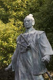 長崎甚左衛門の像の写真素材 [FYI04900597]