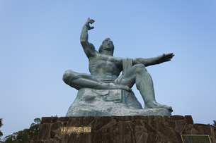 平和祈念像の写真素材 [FYI04900627]