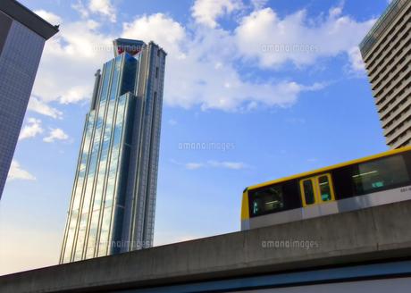 大阪府咲州庁舎とニュートラムの写真素材 [FYI04900681]