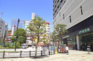 蒲田駅西口の写真素材 [FYI04900891]