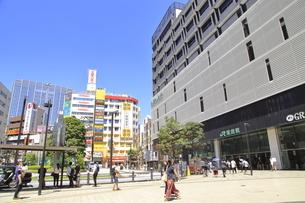蒲田駅西口の写真素材 [FYI04900893]