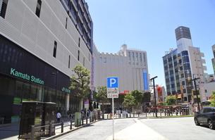 蒲田駅西口の写真素材 [FYI04900895]