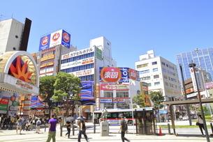 蒲田駅西口前の写真素材 [FYI04900897]