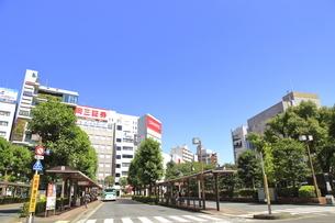 大森駅東口前の写真素材 [FYI04900933]