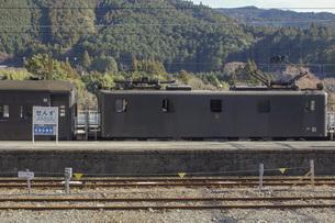 大井川鉄道の風景 千頭駅の写真素材 [FYI04901179]