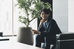 若手経営者のイメージ・スタートアップ起業をする男性の写真素材 [FYI04901211]