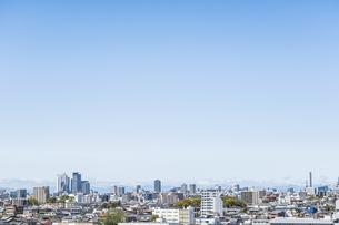名駅地区高層ビル群を見る市街地風景の写真素材 [FYI04901318]