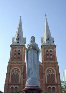 サイゴン大教会の写真素材 [FYI04901450]
