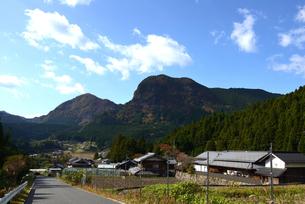 奈良/曽爾村の集落の写真素材 [FYI04901664]