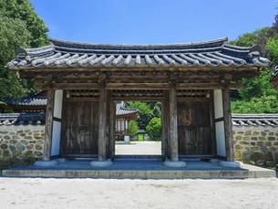 神奈川県立三ツ池公園のコリア庭園の写真素材 [FYI04901709]