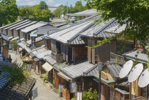 関西の風景 京都市東山 二年坂の町並みの写真素材 [FYI04901947]