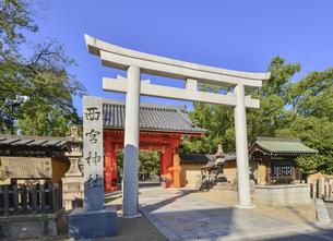 関西の風景 西宮市 西宮神社の写真素材 [FYI04902091]
