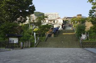 伊香保温泉石段街(群馬県渋川市)の写真素材 [FYI04902541]