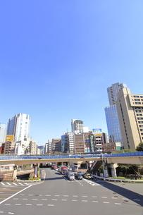 飯田橋交差点の写真素材 [FYI04903424]