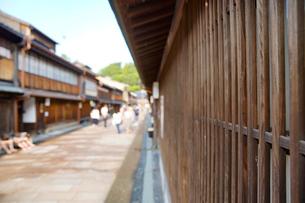 金沢・ひがし茶屋街の写真素材 [FYI04903861]