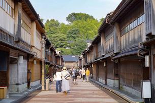 金沢・ひがし茶屋街の写真素材 [FYI04903863]