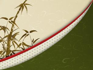 和風 竹 日本 和紙 和柄 市松模様 古典的のイラスト素材 [FYI04904319]