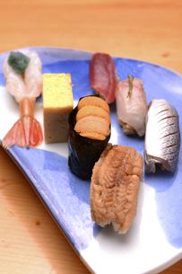 にぎり寿司の写真素材 [FYI04905356]