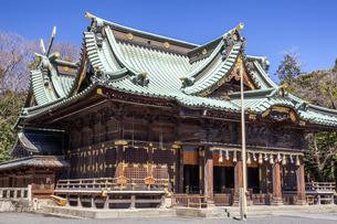 三嶋大社 拝殿の写真素材 [FYI04905378]