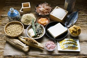 お米と発酵食品の写真素材 [FYI04905453]