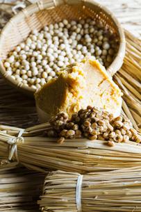 大豆食品の写真素材 [FYI04905570]