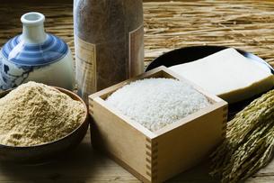 お米と発酵食品の写真素材 [FYI04905582]