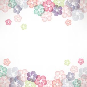 梅の花のイラストの背景のイラスト素材 [FYI04905665]