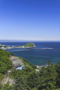 利尻島の玄関口・鴛泊(おしどまり)港の写真素材 [FYI04905903]
