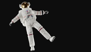 宇宙飛行士の写真素材 [FYI04906346]