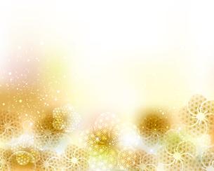 和柄の梅の花と光の背景のイラスト素材 [FYI04906476]