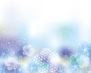 和柄の梅の花と光の背景のイラスト素材 [FYI04906586]