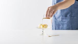 Vanilla ice cream.の写真素材 [FYI04906593]