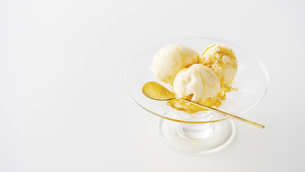 Vanilla ice cream.の写真素材 [FYI04906594]