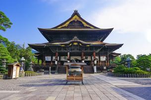 善光寺本堂(長野県長野市)の写真素材 [FYI04906606]