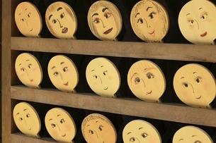 下鴨神社 河合神社の鏡絵馬の写真素材 [FYI04907195]