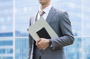 ビジネスマンの匿名イメージの写真素材 [FYI04907405]