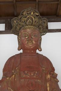 晧台寺の大仏の写真素材 [FYI04907619]