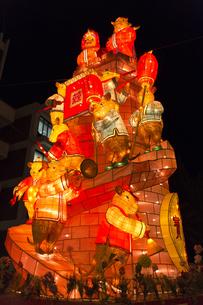 長崎ランタンフェスティバルのランタンの写真素材 [FYI04907622]