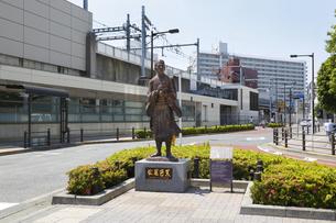 松尾芭蕉像の写真素材 [FYI04907866]