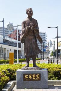 松尾芭蕉像の写真素材 [FYI04907867]
