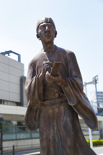 松尾芭蕉像の写真素材 [FYI04907868]
