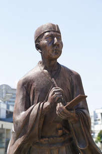 松尾芭蕉像の写真素材 [FYI04907869]